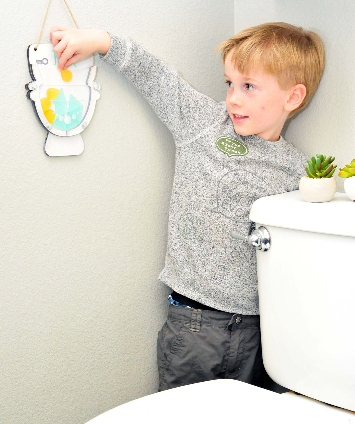Token Reward Chart for Potty Training- Incentive Chart - Makes Toilet Training Fun!  Autism - Toddlers -Boys - Girls - Personalized