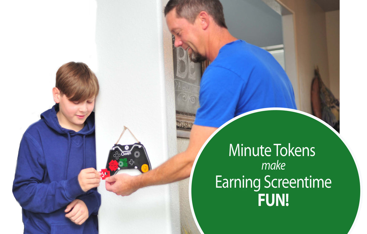 Screen Time Chore Chart,  Positive Reward Incentive System, Behavior Management - Video Games