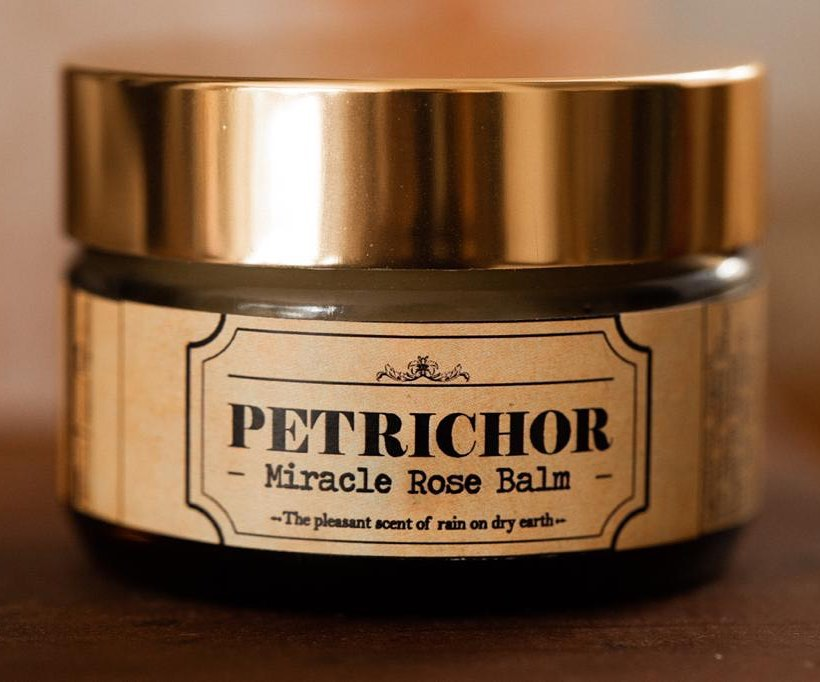 Petrichor miracle Rose Balm - 10ml travel size