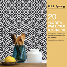 Load image into Gallery viewer, Robin Sprong vinyl wall tiles - Florita
