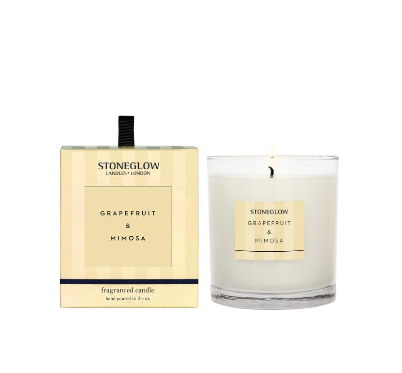 Stoneglow Modern Classics candle - Grapefruit and Mimosa