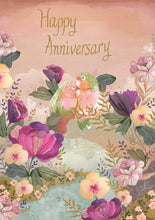 Load image into Gallery viewer, RLB Happy anniversary - two birds card