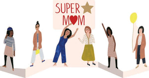 RLB Super mom concertina card