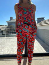 Load image into Gallery viewer, Freda and Dick Carla jumpsuit - pink Marimeko print