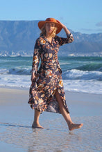 Load image into Gallery viewer, Freda and Dick Nicola dress - navy floral