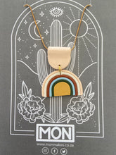 Load image into Gallery viewer, MON necklace - Rainbow