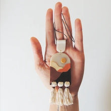 Load image into Gallery viewer, MON polymer charm necklace - Earth