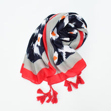 Load image into Gallery viewer, Scarf - diamond print