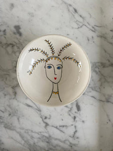 Hand painted ceramic bowl - Small
