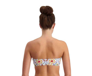 Piha Latina Folk Bandeau top and adjustable side pant - Multi