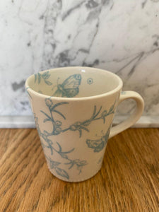 Hand-painted porcelain small mug - Espresso
