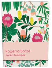 Load image into Gallery viewer, RLB pocket notebook - King Protea