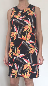 Freda and Dick Brenda dress - Strelitzia print