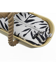 Load image into Gallery viewer, Fenn original bag - Yellow with rope handle and patterned inner