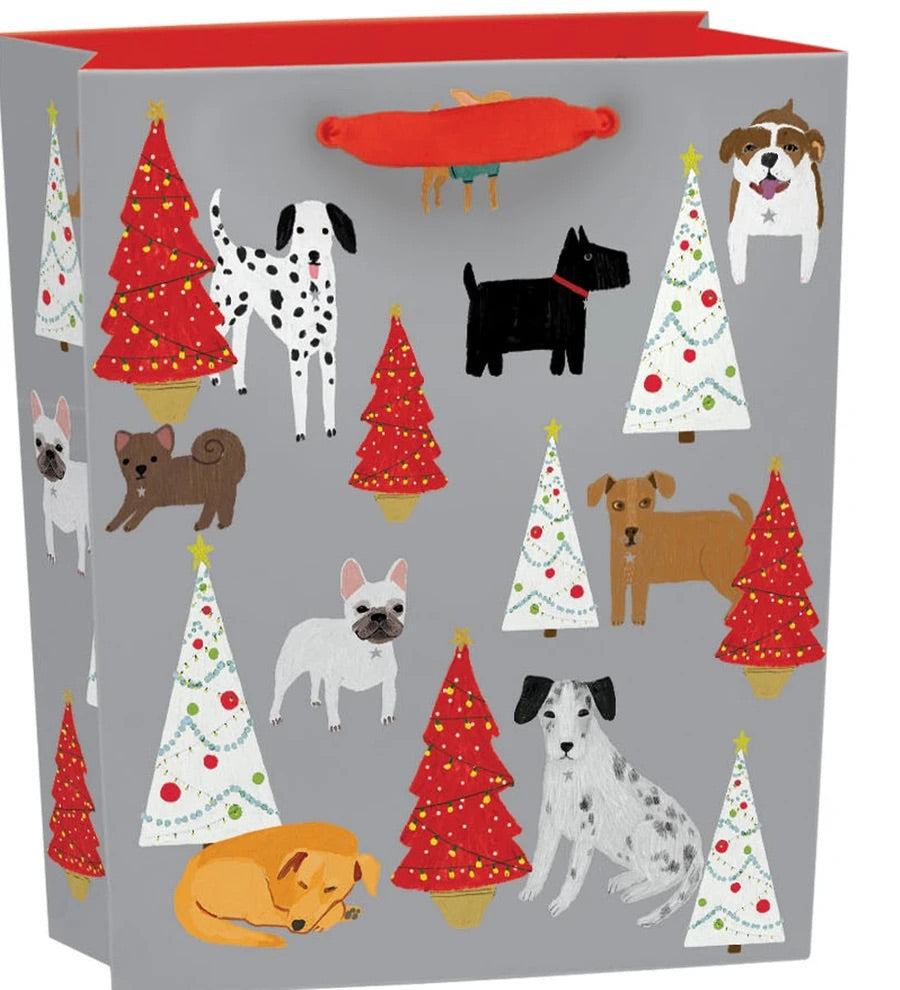 RLB Gift Bag medium vertical - Cat and dog