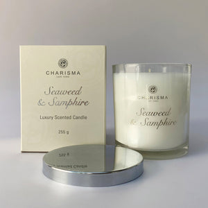 Charisma scented candle single wick - Seaweed Samphire