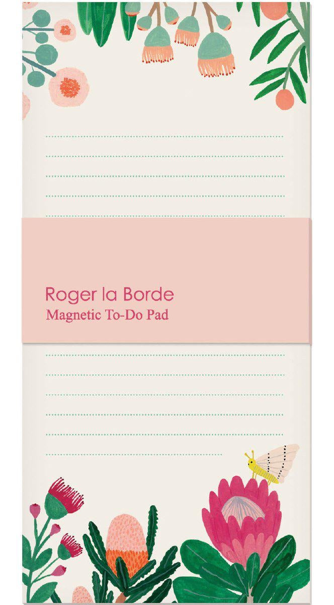 RLB Magnetic to-do pad - King Protea