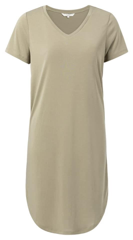 Yaya v neck dress