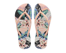Load image into Gallery viewer, Havaianas Slim floral dots - Ballet rose