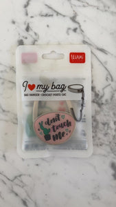 "Legami ""I love my bag"" bag hanger"