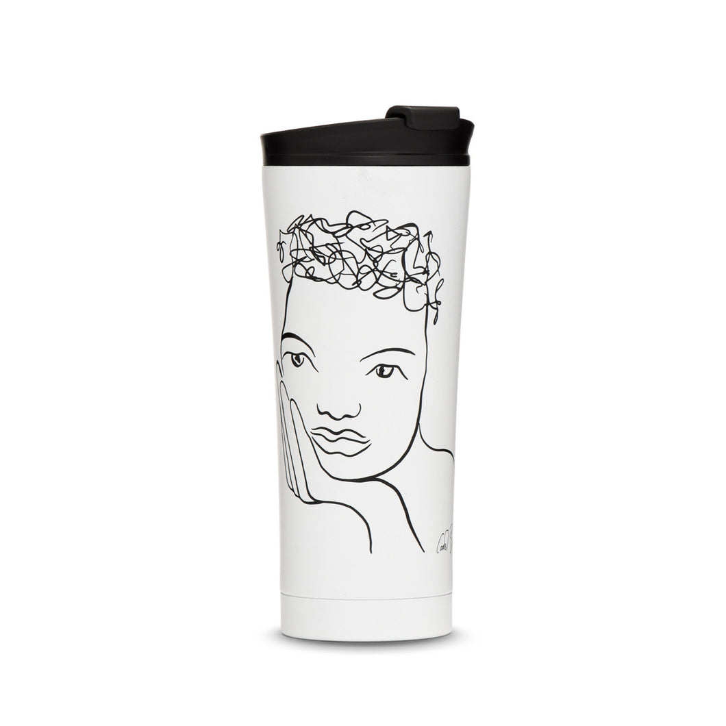 Carol Boyes travel mug - Knowing