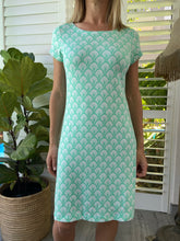Load image into Gallery viewer, Hatleys Nellie dress - scallops mint