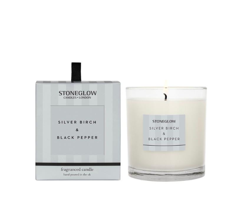 Stoneglow Modern Classics candle - Silver birch and black pepper