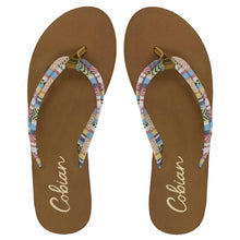 Load image into Gallery viewer, Cobian Soleil sandal - Multi cream yellow strap