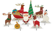 Load image into Gallery viewer, RLB pop and slot - Santa and his reindeer