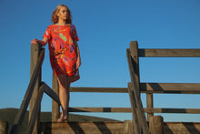 Load image into Gallery viewer, Freda and Dick Asla dress - Red bold floral