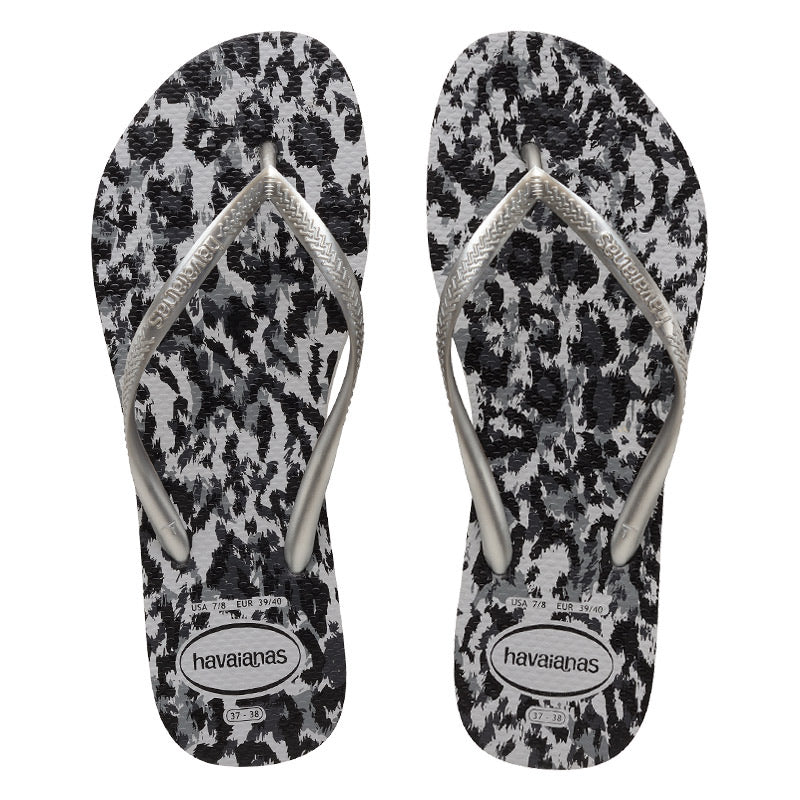 Havaianas Slim Animal - Ice grey / Silver