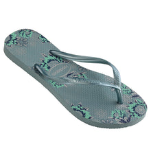 Load image into Gallery viewer, Havaiana Slim organic - Silver blue