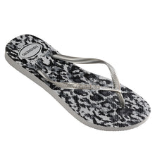 Load image into Gallery viewer, Havaianas Slim Animal - Ice grey / Silver
