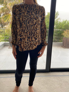 Freda and dick leopard print blouse