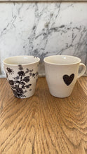Load image into Gallery viewer, Hand - painted porcelain medium mug - coffee/tea