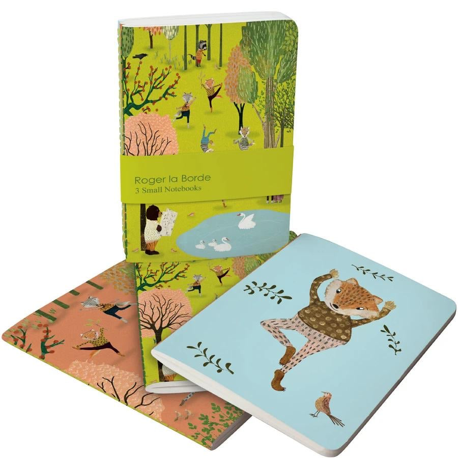 RLB A6 Exercise Books Bundle - Yoga in the park