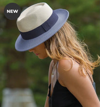 Load image into Gallery viewer, Naledi hat - Ivory/Navy