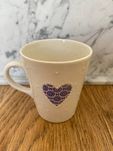 Load image into Gallery viewer, Hand-painted porcelain small mug - Espresso