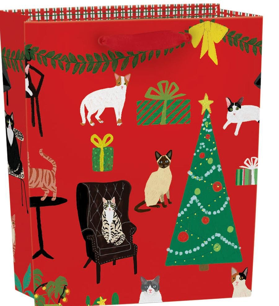 RLB Large (vertical) gift bag  - Cat Palais