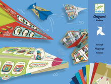 Load image into Gallery viewer, Djeco origami -planes for boys
