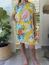 Load image into Gallery viewer, Freda and Dick Asla dress - yellow antique floral