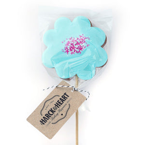 Harck and Heart flower pops