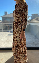 Load image into Gallery viewer, Freda and Dick Nicola dress - light leopard