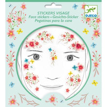 Load image into Gallery viewer, Djeco face stickers - springtime fairy