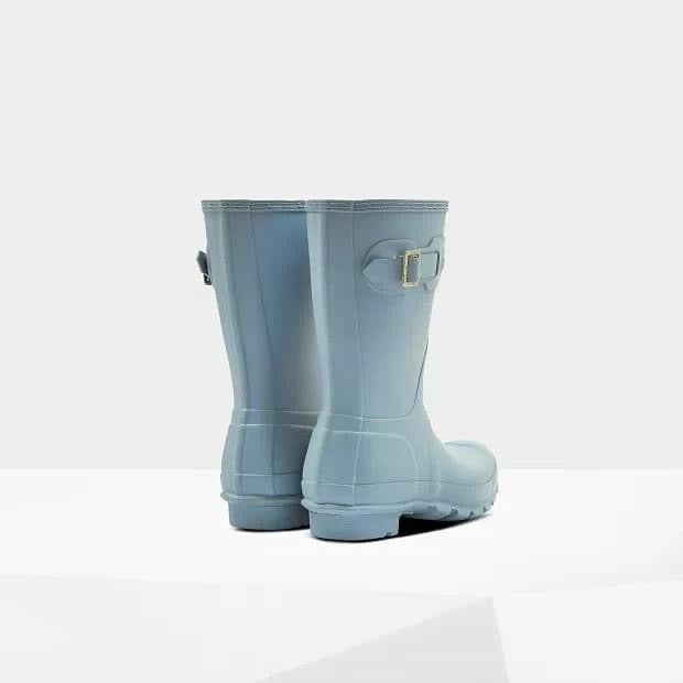 Hunter original short boot - Blue stem
