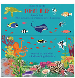 Roger la borde puzzle pack - Coral reef