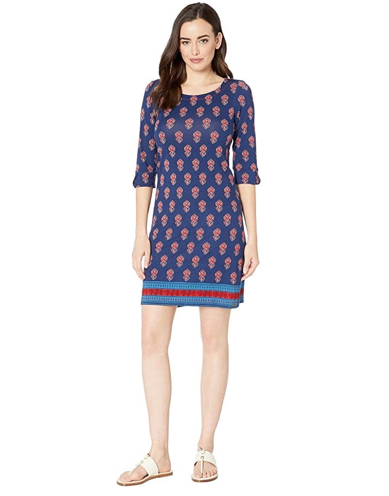 Hatleys Lucy dress - mini flower blue