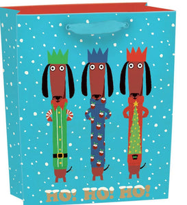 RLB  medium (vertical) gift bag - Odd dog out