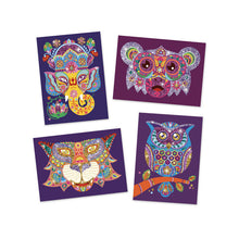 Load image into Gallery viewer, Djeco Glitter art box - animals