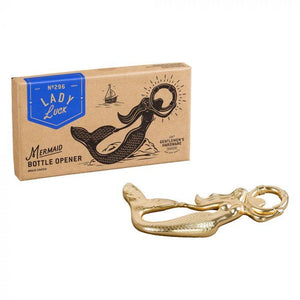 Lady Luck mermaid bottle opener
